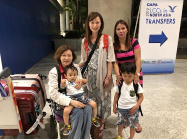 セブ島 ベビーシッターとご対面◆親子留学セブ体験記0日目
