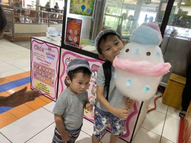 フィリピンの綿菓子はゆるキャラで可愛い