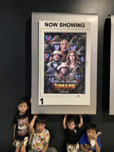 ドゥマゲテで初めての映画鑑賞「JUMANJI」を英語で見たよ