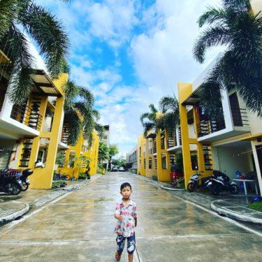 フィリピン親子留学の住まいに到着