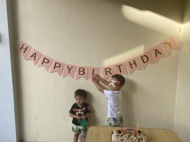 ドゥマゲテでRyuta2歳のバースデーを迎えました