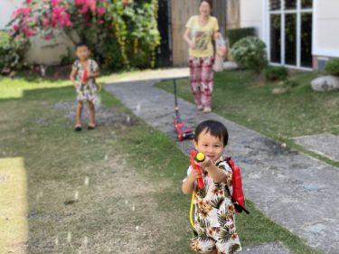 ドゥマゲテ本格的な夏の暑さにバテバテ(フィリピン親子留学)