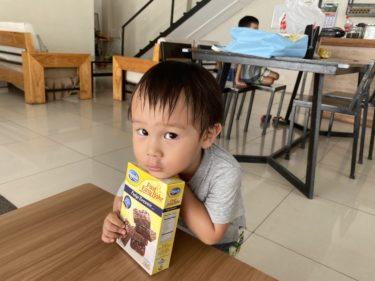 フィリピンでチョコブラウニー作り(ドゥマゲテ親子留学)