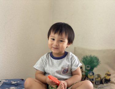 2歳4か月「Let's play together !」をマスターしました