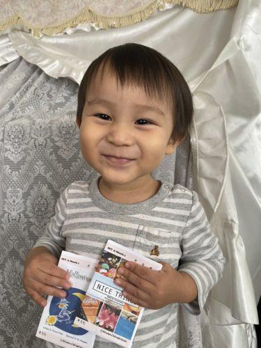 2歳4ヶ月「I like 〜」を使い始めました!