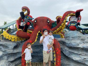 家族4人でレゴランド・ジャパンを楽しみました