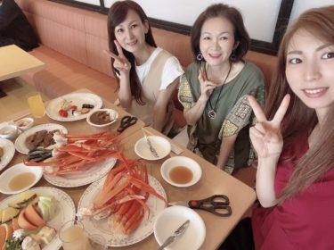 神戸ポートタワーホテルでカニの食べ放題を満喫